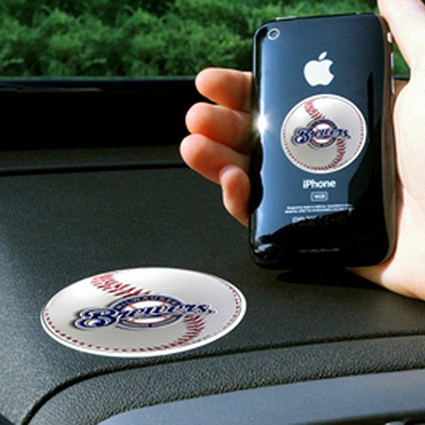 FanMats® - Universal Cell Phone Grips (Sports, MLB, Milwaukee Brewers)