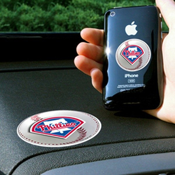 FanMats® - Universal Cell Phone Grips (Sports, MLB, Philadelphia Phillies)