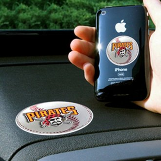 FanMats® - Universal Cell Phone Grips (Sports, MLB, Pittsburgh Pirates)