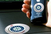 FanMats® - Universal Cell Phone Grips (Sports, MLB, Seattle Mariners)