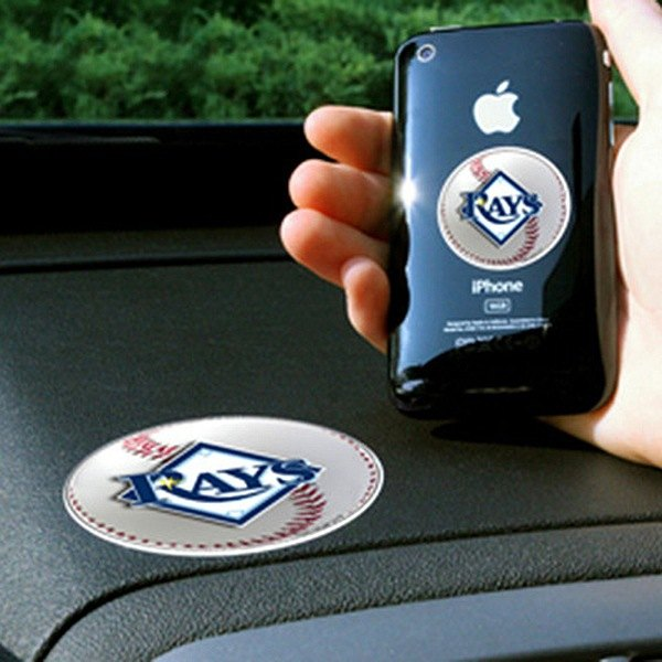 FanMats® - Universal Cell Phone Grips (Sports, MLB, Tampa Bay Rays)