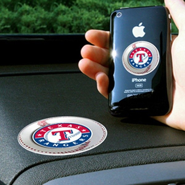 FanMats® - Universal Cell Phone Grips (Sports, MLB, Texas Rangers)
