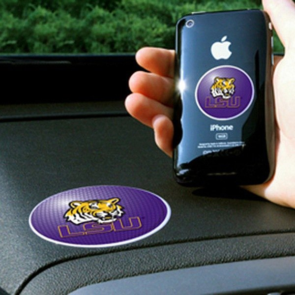 FanMats® - Universal Cell Phone Grips (College, Louisiana, Louisiana State University)