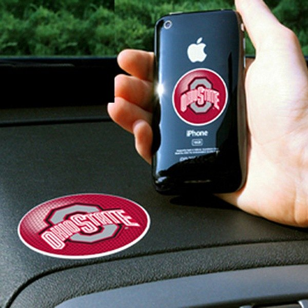 FanMats® - Universal Cell Phone Grips (College, Ohio, Ohio State University)