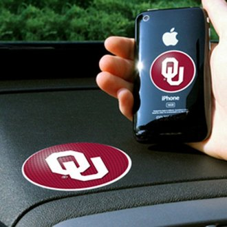 FanMats® - Universal Cell Phone Grips (Collegiate, Oklahoma, University of Oklahoma)