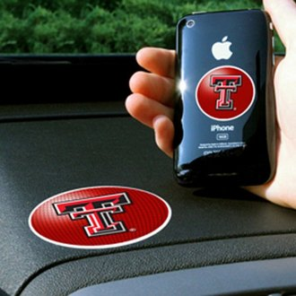 FanMats® - Universal Cell Phone Grips (Collegiate, Texas, Texas Tech University)