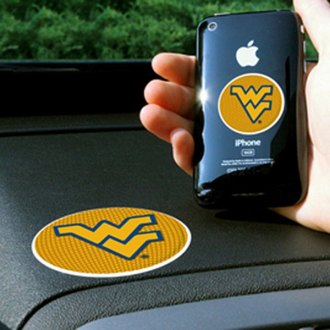 FanMats® - Universal Cell Phone Grips (Collegiate, West Virginia, West Virginia University)