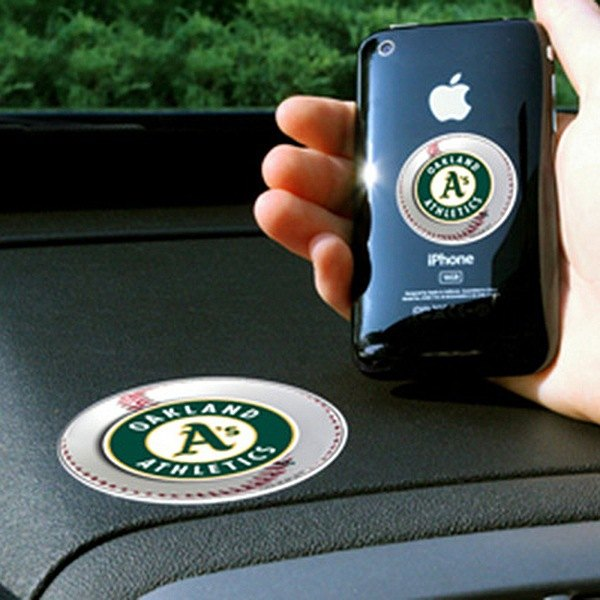 FanMats® - Universal Cell Phone Grips (Sports, MLB, Oakland Athletics)