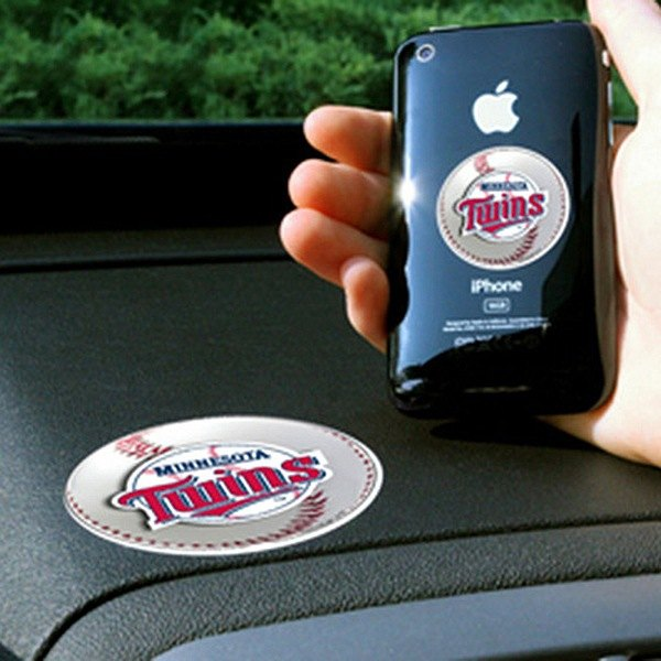 FanMats® - Universal Cell Phone Grips (Sports, MLB, Minnesota Twins)