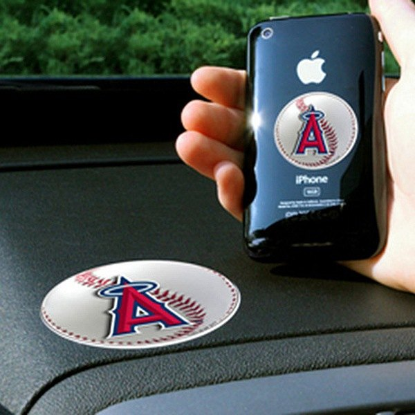 FanMats® - Universal Cell Phone Grips (Sports, MLB, Los Angeles Angels)