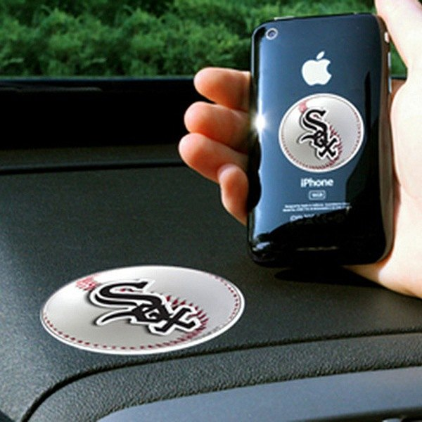 FanMats® - Universal Cell Phone Grips (Sports, MLB, Chicago White Sox)