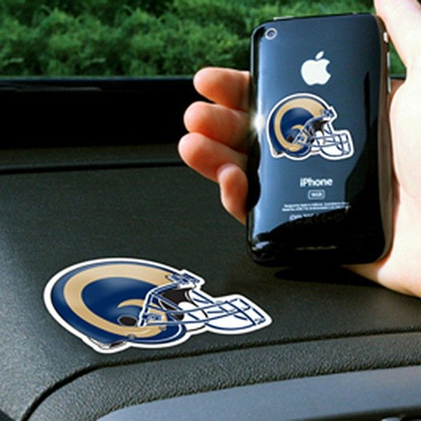 FanMats® - Universal Cell Phone Grips (Sports, NFL, St. Louis Rams)