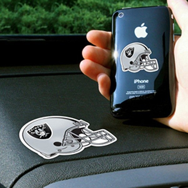 FanMats® - Universal Cell Phone Grips (Sports, NFL, Oakland Raiders)