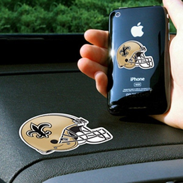 FanMats® - Universal Cell Phone Grips (Sports, NFL, New Orleans Saints)