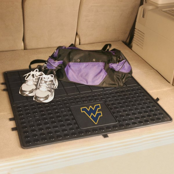FanMats® - Universal Fit Heavy Duty Vinyl Cargo Mat (College, West Virginia, West Virginia University)
