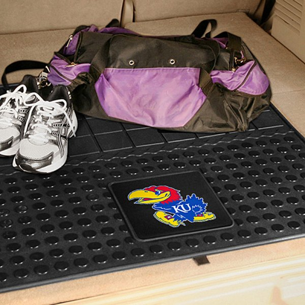 FanMats® - Universal Fit Heavy Duty Vinyl Cargo Mat (College, Kansas, University of Kansas)