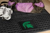 FanMats® Michigan State University Logo on Heavy Duty Vinyl Cargo Mat