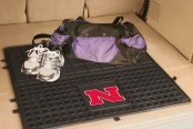FanMats® - Universal Fit Heavy Duty Vinyl Cargo Mat (College, Nebraska, University of Nebraska)