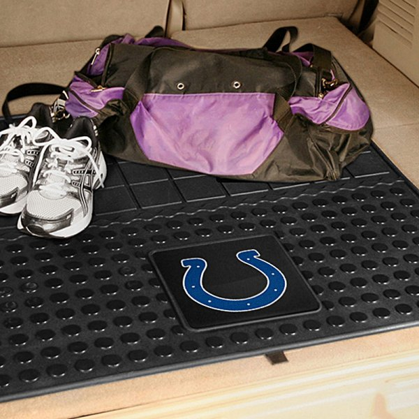 FanMats® - Universal Fit Heavy Duty Vinyl Cargo Mat (Sports, NFL, Indianapolis Colts)