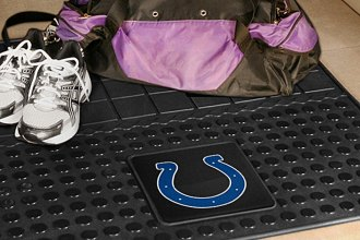 FanMats® Indianapolis Colts Logo on Heavy Duty Vinyl Cargo Mat