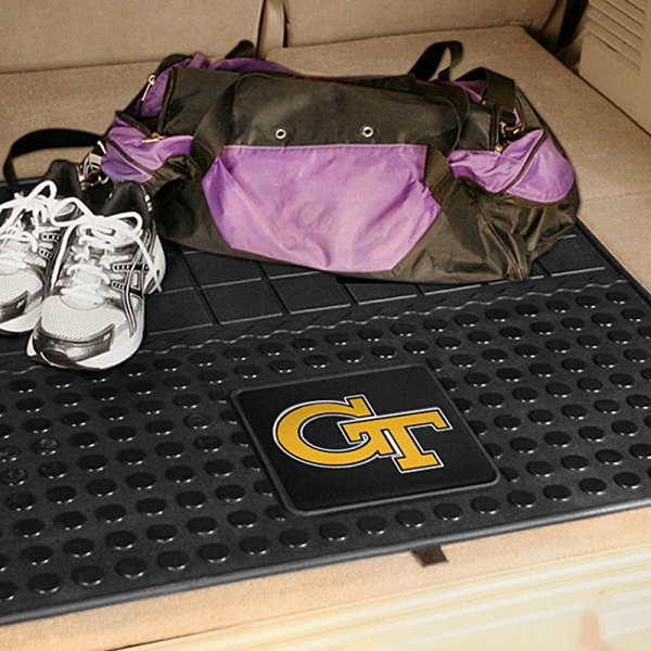 FanMats® - Universal Fit Heavy Duty Vinyl Cargo Mat (College, Georgia, Georgia Tech)