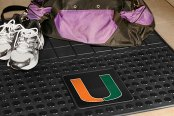 FanMats® - Universal Fit Heavy Duty Vinyl Cargo Mat (College, Florida, University of Miami)