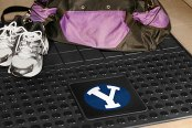 FanMats® Brigham Young University Logo on Heavy Duty Vinyl Cargo Mat