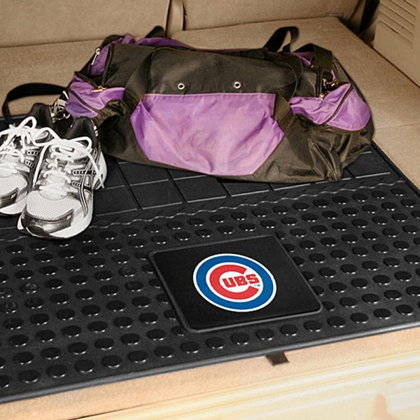 FanMats® - Universal Fit Heavy Duty Vinyl Cargo Mat (Sports, MLB, Chicago Cubs)