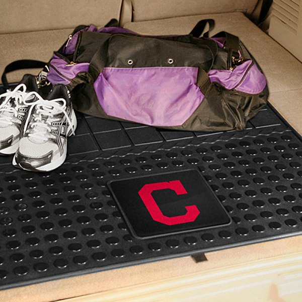 FanMats® - Universal Fit Heavy Duty Vinyl Cargo Mat (Sports, MLB, Cleveland Indians)