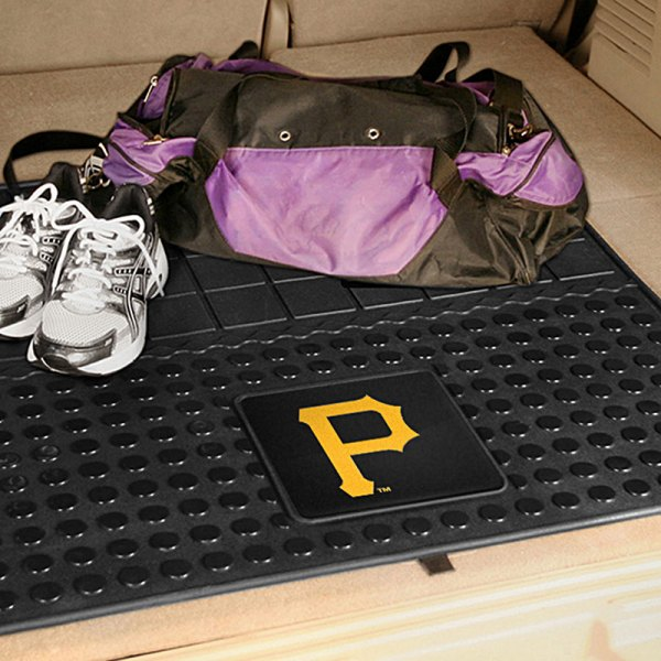 FanMats® - Universal Fit Heavy Duty Vinyl Cargo Mat (Sports, MLB, Pittsburgh Pirates)