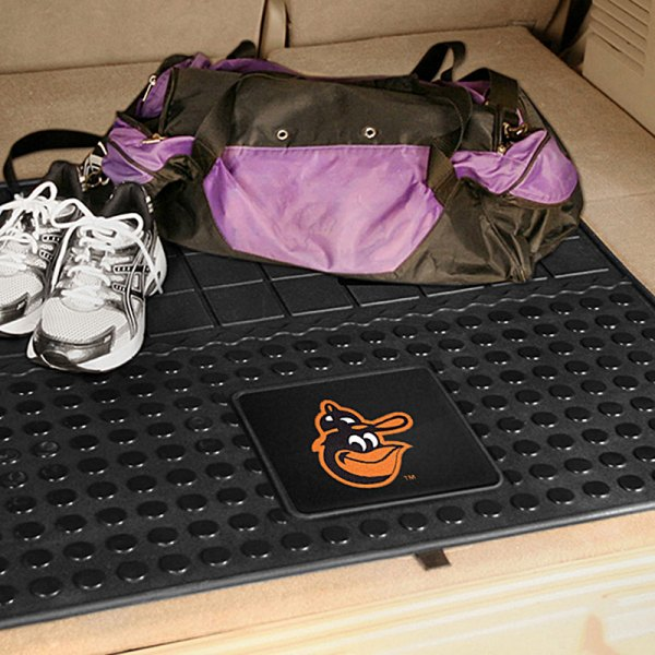 FanMats® - Universal Fit Heavy Duty Vinyl Cargo Mat (Sports, MLB, Baltimore Orioles)