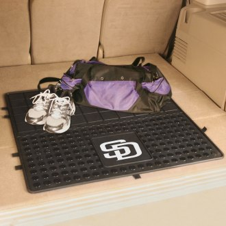 FanMats® - Universal Fit Heavy Duty Vinyl Cargo Mat (Sports, MLB, San Diego Padres)