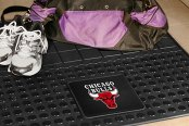FanMats® Chicago Bulls Logo on Heavy Duty Vinyl Cargo Mat