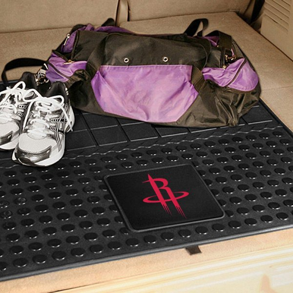 FanMats® - Universal Fit Heavy Duty Vinyl Cargo Mat (Sports, NBA, Houston Rockets)