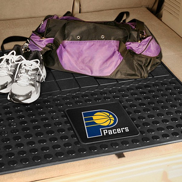 FanMats® Indiana Pacers Logo on Heavy Duty Vinyl Cargo Mat