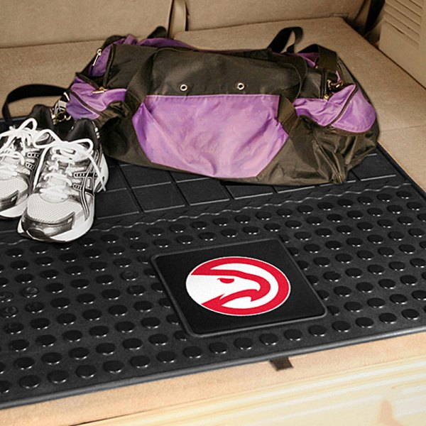 FanMats® Atlanta Hawks Logo on Heavy Duty Vinyl Cargo Mat