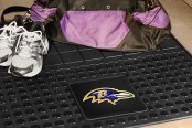 FanMats® - Universal Fit Heavy Duty Vinyl Cargo Mat (Sports, NFL, Baltimore Ravens)