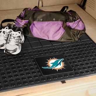 FanMats® - Universal Fit Heavy Duty Vinyl Cargo Mat (Sports, NFL, Miami Dolphins)