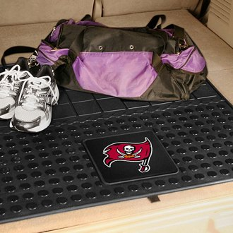 FanMats® - Universal Fit Heavy Duty Vinyl Cargo Mat (Sports, NFL, Tampa Bay Buccaneers)