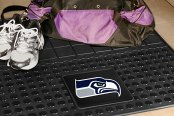 FanMats® - Universal Fit Heavy Duty Vinyl Cargo Mat (Sports, NFL, Seattle Seahawks)