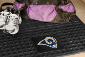 FanMats® St Louis Rams Logo on Heavy Duty Vinyl Cargo Mat