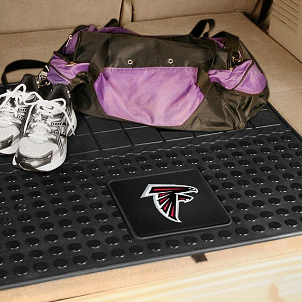 FanMats® - Universal Fit Heavy Duty Vinyl Cargo Mat (Sports, NFL, Atlanta Falcons)