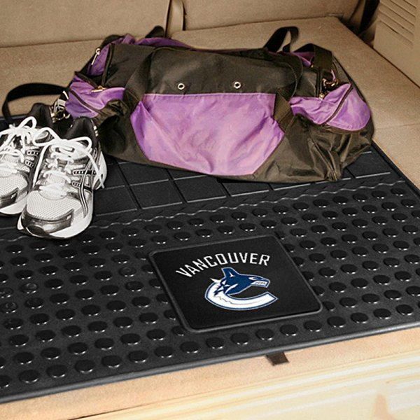 FanMats® - Universal Fit Heavy Duty Vinyl Cargo Mat (Sports, NHL, Vancouver Canucks)