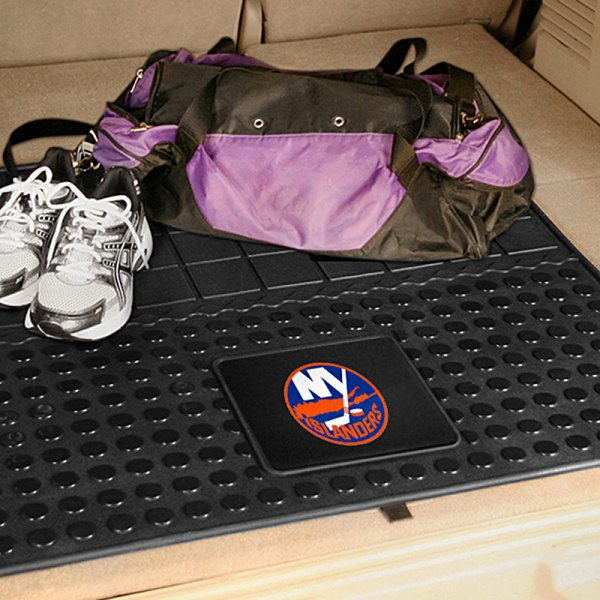FanMats® - Universal Fit Heavy Duty Vinyl Cargo Mat (Sports, NHL, New York Islanders)