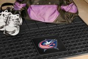 FanMats® - Universal Fit Heavy Duty Vinyl Cargo Mat (Sports, NHL, Columbus Blue Jackets)