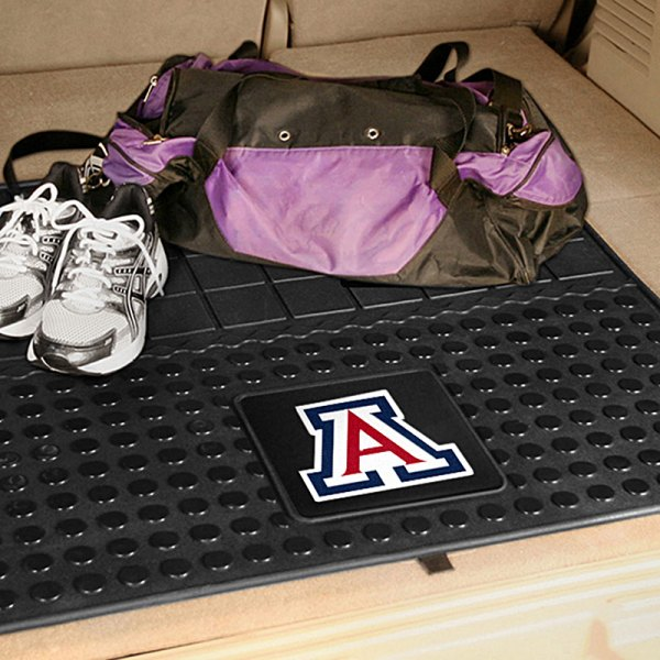 FanMats® University of Arizona Logo on Heavy Duty Vinyl Cargo Mat