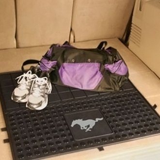 FanMats® - Universal Fit Heavy Duty Vinyl Cargo Mat (Ford, Mustang Horse)