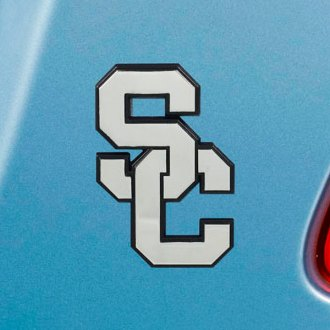 FanMats® - Universal Chrome Emblem (College, California, University of Southern California)