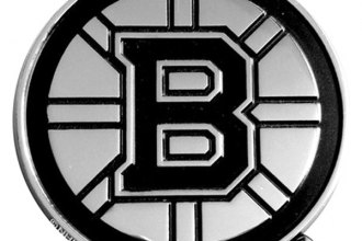FanMats® 14837 - Boston Bruins Logo on Chrome Emblem
