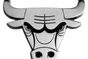 FanMats® Chicago Bulls Chrome Emblem